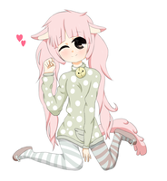 My new OC :3 by Simix3