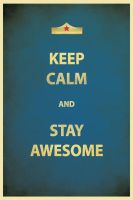 Keep Awesome by SixPixeldesign