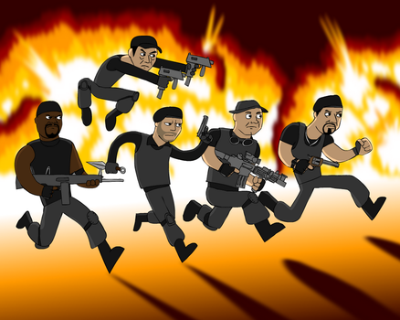 Expendables by Zoolon