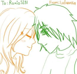 1 Sckch Gift for Roxio5281 by LuziWonka