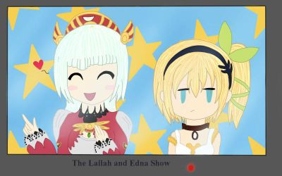 The Lailah and Edna Show by AnjuSendo
