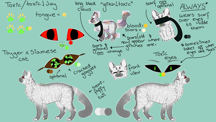 Toxic Ref Sheet [2017] by jay-biird