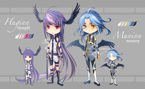 [CLOSED] Asgard Adoptables Set 01 by Archaedia