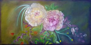 Wild roses by LeahD7