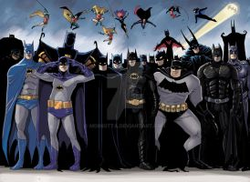 Batmen by mDiMotta
