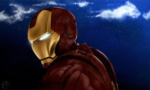 Iron Man by red-in-black