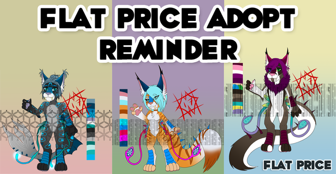 **PRICES REDUCED** ADOPT REMINDER by Ginpu