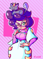 Wicke and Meowth by Xuco