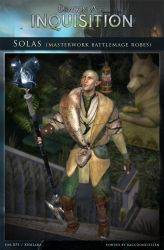 DAI Characters - Solas (Masterwork) for XPS (DL) by raccooncitizen