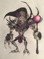 Rayman chronicles character: General Reflux by nathandlneumann