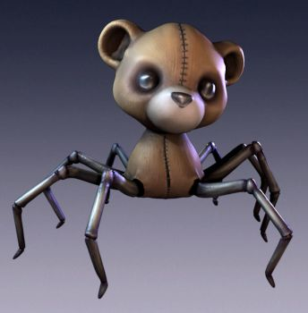 Spider Bear by slydevil