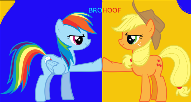 The Power of BROHOOF by ApexApplejack
