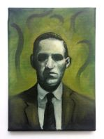 H.P.Lovecraft by RUGIDOart
