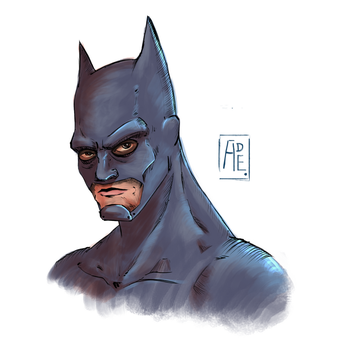 Batman Sketch! by Ade21