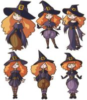 Witchy Concepts by RasTear