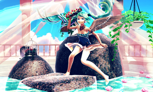 [MMD Fantasia Contest] Goddess's Shrine by Mrsagreen