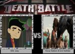 Db Jake Vs Hiccup and toothless by FireEmber345