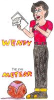 Wendy and The Evil Meteor- Break Time Sketches by jamesgannon