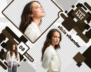Png Pack 3615 - Alicia Vikander by southsidepngs