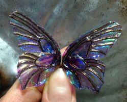 Midnight Faery Wings by S0WIL0