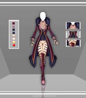 Adoptable Outfit Auction 63(closed) by LaminaNati