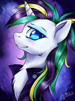 Punk Rarity (with Speedpaint) by wolfchen999
