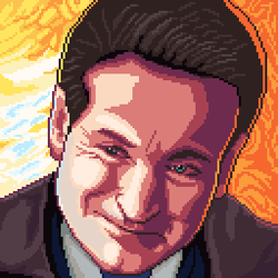 A tribute to my favorite actor Robin Williams by Simtek
