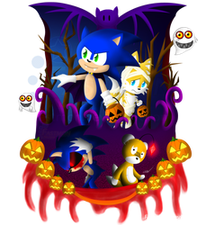 [Halloween 2014] Sonic Spooks! by Fastmon