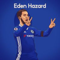 Eden Hazard by dicky10official