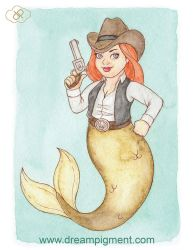 MerMay 2018: Day 27 - Western by DreamPigment