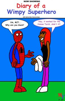Fanboy and Mary Jane go see Spider-Man Homecoming by MarkFanboy