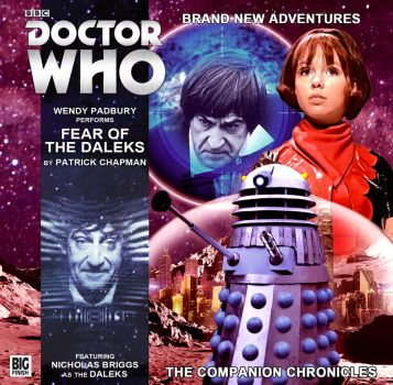 Fear Of The Daleks | 2017 Cover by Cotterill23