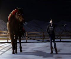 'Are You Serious' | equiBREAK | Lunging by Moose-On-Ice