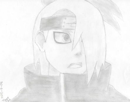 Deidara by lltzurill