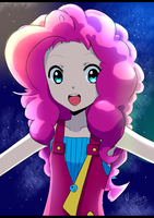 Human Pinkie Pie by PegaSisters82