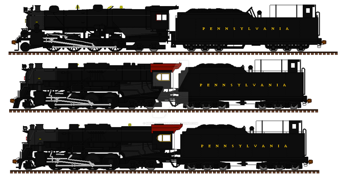 The PRR U class engines by mrbill6ishere