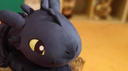Toothless Plushie by Fenmar