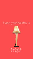 A Christmas Story iPhone Background by SunnyFunLane