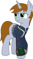 Littlepip, the Little Lightbringer by Gray-Wolf11
