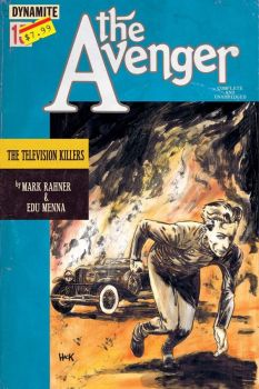 The Avenger Special #1 cover by RobertHack