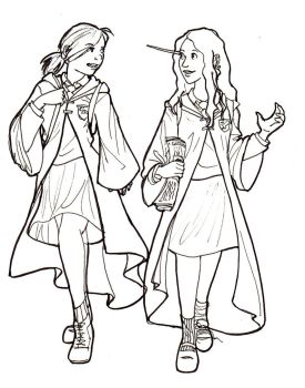 737x1024 harry potter ginny coloring page. pages a colorier moana ...