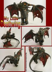 My Little Deathwing Custom MLP by VickiBrownies