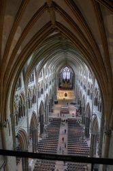 Lincoln Cathedral Interior by bobswin