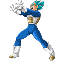 Vegeta SSJ Blue #4 by SaoDVD