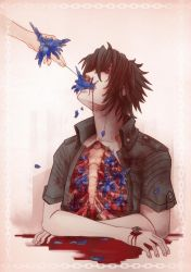 Bluehanahaki Noctis by Wingless-sselgniW