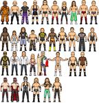 Pro wrestling micros by exitboundcongaline