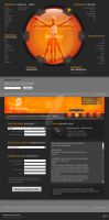 Resiliation Website by pixelbudah