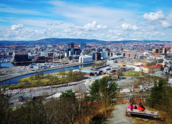 Oslo C from Ekeberg by bernardojr