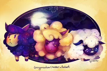 Space Sheep by Sylladexter