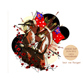 aph : ANZAC 100th Anniversary by nascens